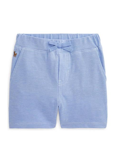Ralph Lauren Childrenswear Baby Boys Cotton Mesh Short