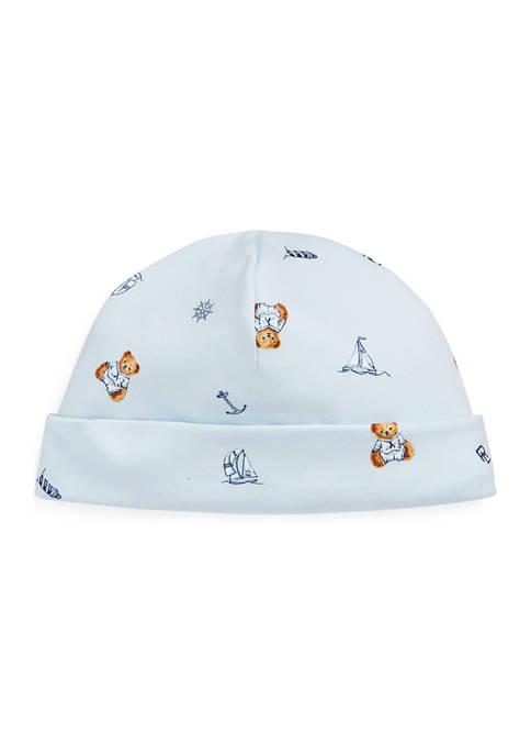 Ralph Lauren Childrenswear Baby Boys Polo Bear Interlock