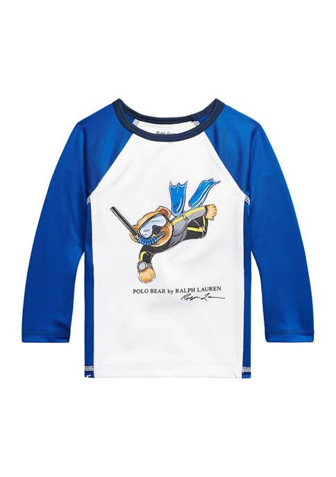Ralph Lauren Childrenswear Baby Boys Polo Bear Stretch