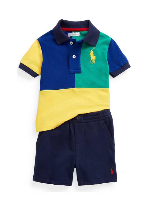 Ralph Lauren Childrenswear Baby Boys Big Pony Polo