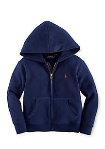 Long Sleeve Full-Zip Hoodie Toddler Boys