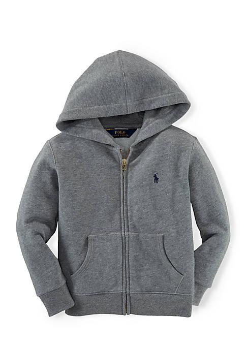 Ralph Lauren Childrenswear Long Sleeve Full-Zip Hoodie Toddler