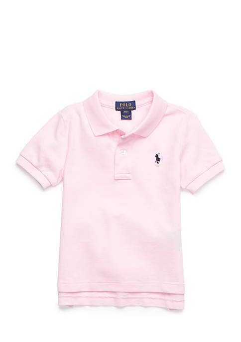 Ralph Lauren Childrenswear Solid Basic Mesh Polo Toddler