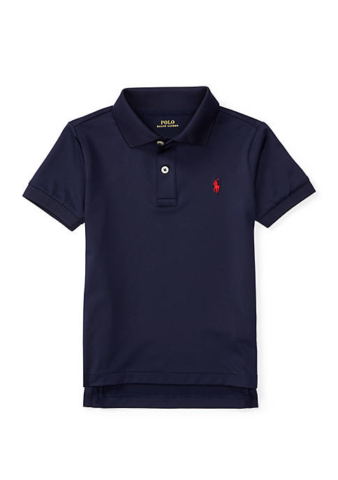 Ralph Lauren Childrenswear Toddler Boys Performance Jersey Polo