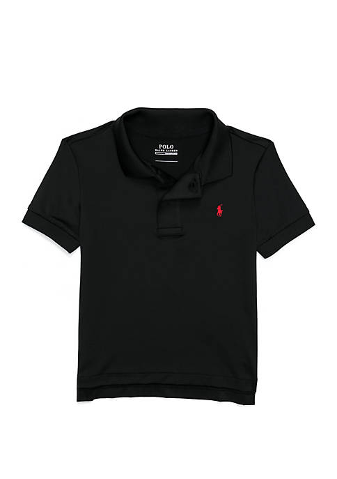 Toddler Boys Performance Jersey Polo Shirt