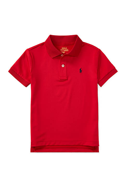 Toddler Boys Performance Jersey Polo Shirt