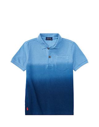d6be4c98 Ralph Lauren Childrenswear. Ralph Lauren Childrenswear Dip-Dyed Mesh Polo  Shirt Toddler Boys