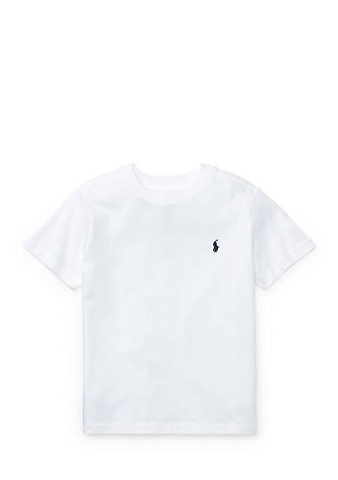Ralph Lauren Childrenswear Cotton Jersey Crewneck T-Shirt Toddler