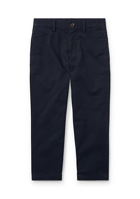 Ralph Lauren Childrenswear Slim Fit Cotton Chino Pants