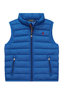 Toddler Boys Packable Quilted Down Vest