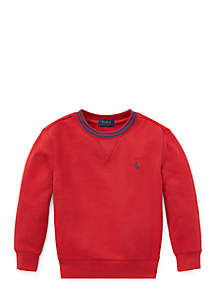 Toddler Boys Cotton-Blend-Fleece Sweatshirt