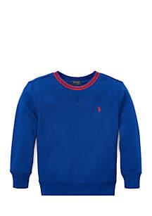 Toddler Boys Cotton-Blend Fleece Sweatshirt