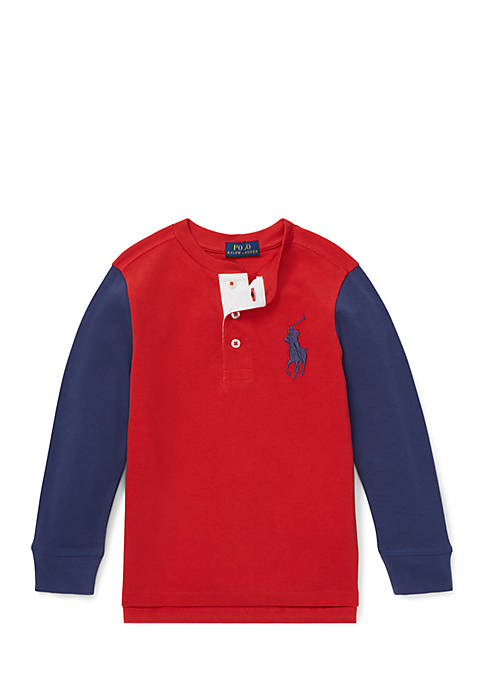 Ralph Lauren Childrenswear Toddler Boys Big Pony Cotton