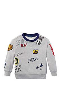 Toddler Boys Cotton Graphic Sweatshirt