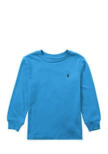 Toddler Boys Cotton Long-Sleeve T-Shirt