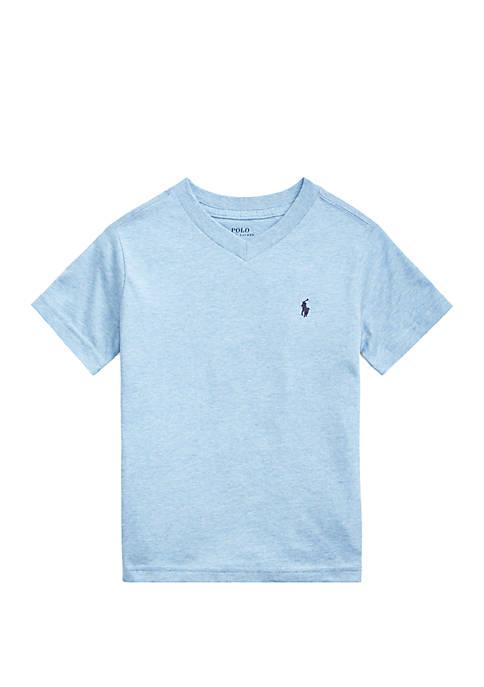 Ralph Lauren Childrenswear Toddler Boys Cotton Jersey V-Neck