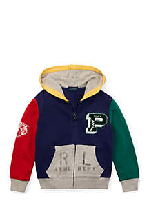 Toddler Boys Cotton French Terry Hoodie