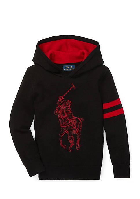 Ralph Lauren Childrenswear Toddler Boys Big Pony Merino
