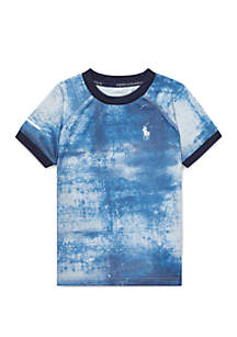Toddler Boys Soft-Touch Crew Neck T-Shirt