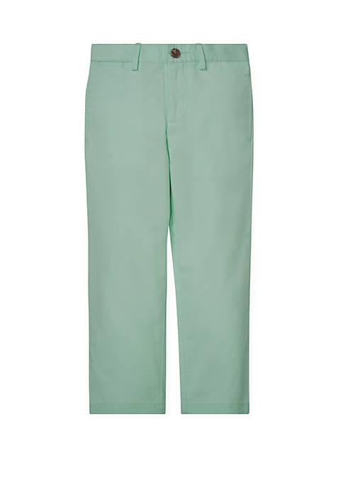 Toddler Boys Cotton Twill Chino Pants