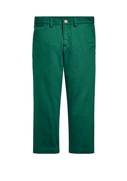 Ralph Lauren Childrenswear Toddler Boys Slim Fit Cotton