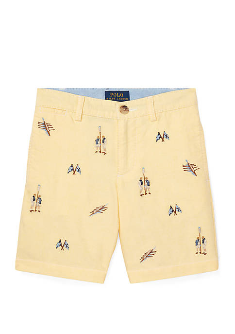 Ralph Lauren Childrenswear Toddler Boys Slim Fit Cotton
