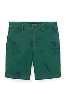 Ralph Lauren Childrenswear Toddler Boys Slim Fit Stretch Chino Shorts