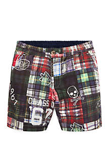 Ralph Lauren Childrenswear Toddler Boys Reversible Cotton Shorts