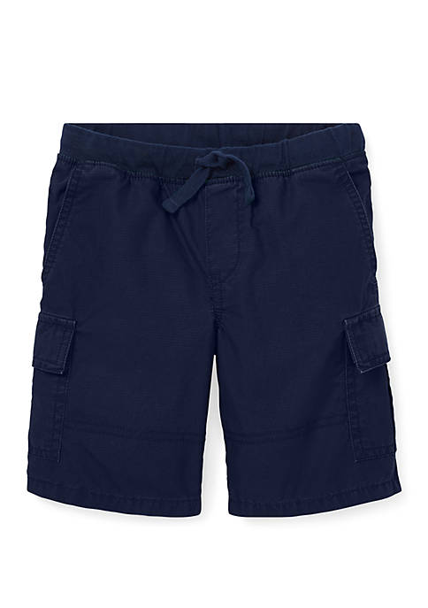 Toddler Boys Cotton Pull On Cargo Shorts