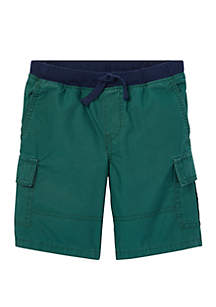Ralph Lauren Childrenswear Toddler Boys Cotton Pull On Cargo Shorts