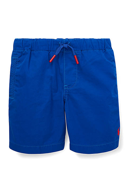 Toddler Boys Cotton Chino Pull On Shorts