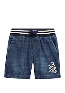 Ralph Lauren Childrenswear Toddler Boys Denim Shorts
