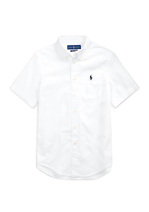 Ralph Lauren Childrenswear Toddler Boys Performance Oxford Shirt