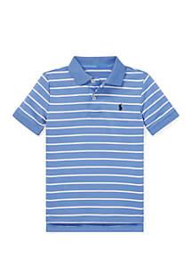 Ralph Lauren Childrenswear Toddler Boys Performance Lisle Polo Shirt