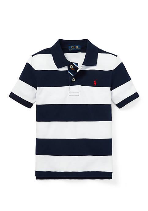 Ralph Lauren Childrenswear Toddler Boys Striped Cotton Mesh