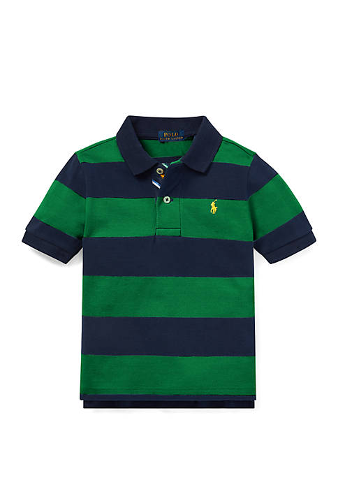 Ralph Lauren Childrenswear Toddler Boys Striped Cotton Mesh