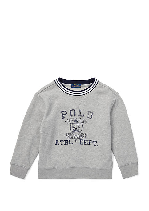 Ralph Lauren Childrenswear Toddler Boys Twill Terry Graphic