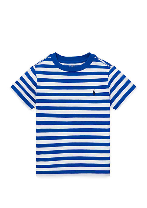 Ralph Lauren Childrenswear Toddler Boys Striped Cotton Jersey