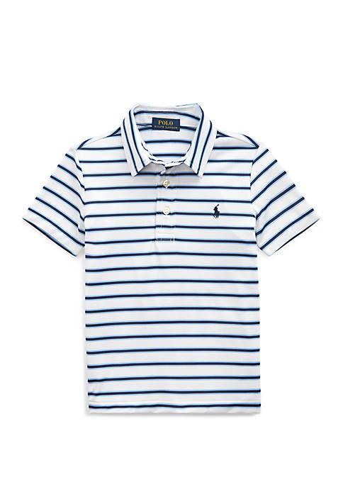 Toddler Boys Performance Lisle Polo Shirt