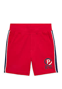 Ralph Lauren Childrenswear Toddler Boys Cotton Mesh Short
