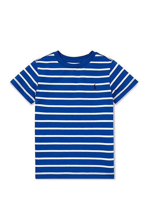 Ralph Lauren Childrenswear Toddler Boys Striped Jersey Crew
