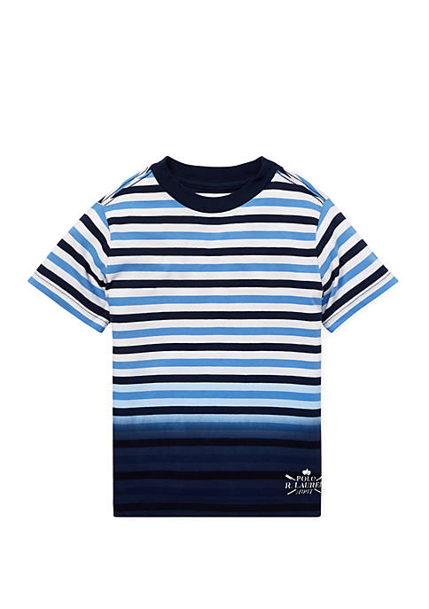 Ralph Lauren Childrenswear Toddler Boys Ombré Striped