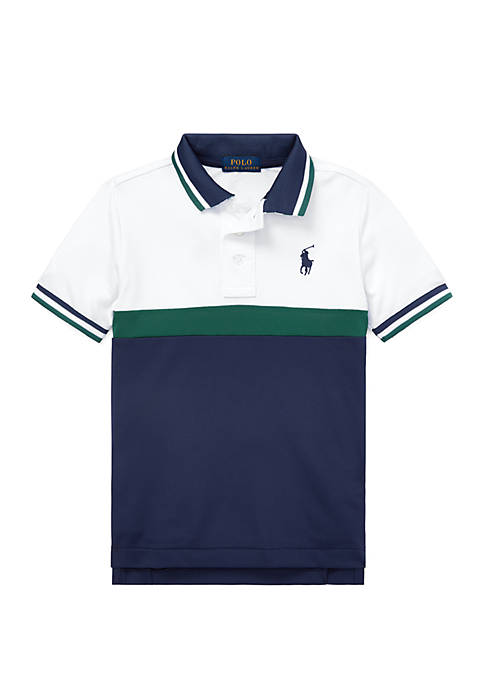 Ralph Lauren Childrenswear Toddler Boys Tech Mesh Polo
