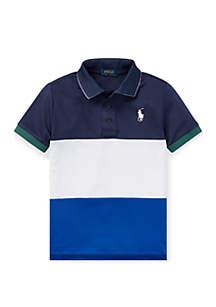 Ralph Lauren Childrenswear Toddler Boys Tech Mesh Polo Shirt