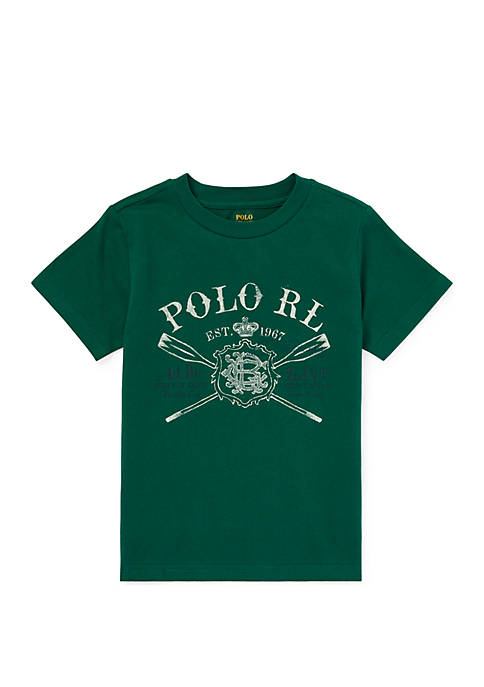Ralph Lauren Childrenswear Toddler Boys Cotton Jersey Graphic