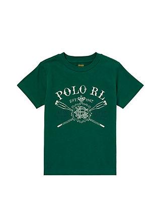 6ffbdb70948e0d Ralph Lauren Childrenswear. Ralph Lauren Childrenswear Toddler Boys Cotton  Jersey Graphic Tee