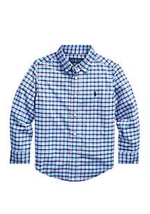 Ralph Lauren Childrenswear Toddler Boys Performance Poplin Shirt