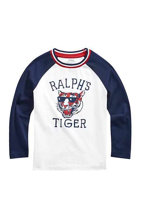 Ralph Lauren Childrenswear Toddler Boys Cotton Graphic Baseball