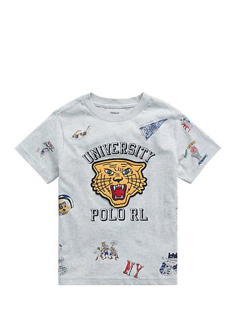 Ralph Lauren Childrenswear Toddler Boys Cotton Jersey Graphic