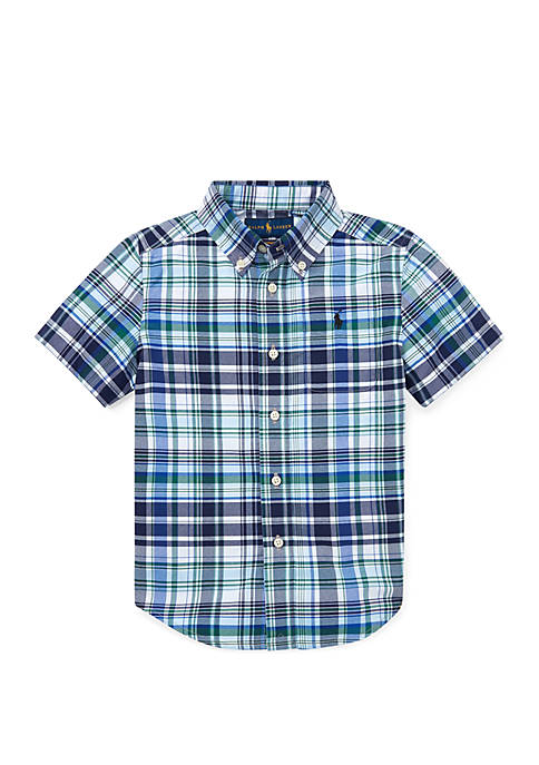 Ralph Lauren Childrenswear Toddler Boys Performance Poplin Shirt